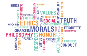 Word cloud composta da parole riferite alla Finanza Etica e Sostenibile