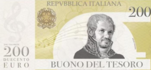 Buono del Tesoro della Repubblica Italiana